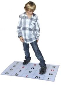 using spelling mats